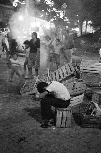 Tommaso Natale, bambino lavoratore. Palermo, 1984