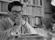 Vittorio La Verde - Pier Paolo Pasolini nella sua casa di Monteverde. Roma, 1965