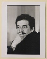 Paola Agosti - Gabriel Garcia Marquez. Roma, 1974