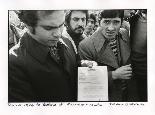 Torino, 1974. La lettera di licenziamento dei dipendenti FIAT di Mirafiori
