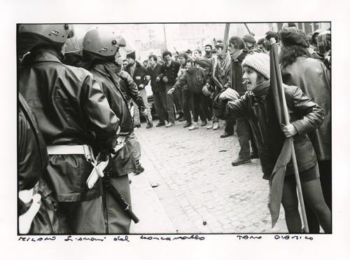 Milano, 1986. Giovani del Leoncavallo
