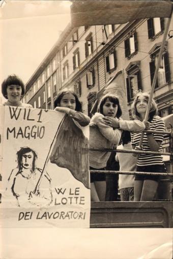 Roma, 1970. Primo maggio
