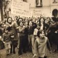 Napoli, 1970. Manifestazione contro l'aumento dei prezzi