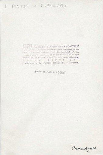 Paola Agosti - Luigi Pintor e Lucio Magri al congresso del PDUP. Bologna, 1976