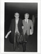 Paola Agosti - Luigi Pintor e Lucio Magri. Congresso PDUP, Bologna, 1976.