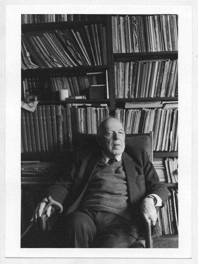 Ernst Gombrich. Londra, 1991