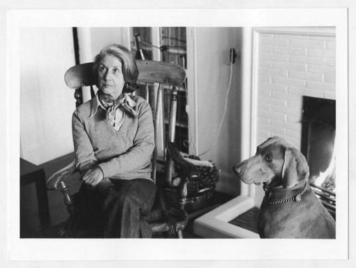 Nadine Gordimer. Johannesburg, 1983