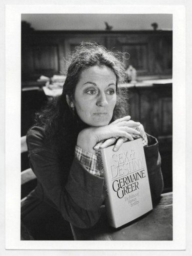 Germaine Greer. Cortona, 1984