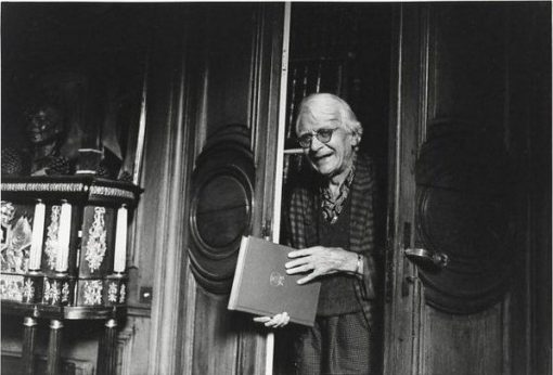 Roger Peyrefitte. Parigi, 1991