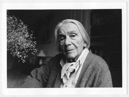 Paola Agosti - Nathalie Sarraute. Parigi, 1991