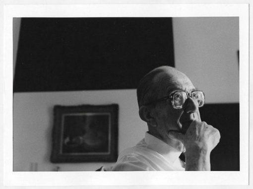 Giulio Carlo Argan. Roma, 1992