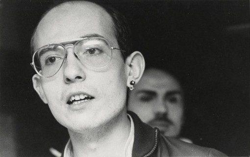 Paola Agosti - Mlitante del FUORI in occasione del V Congresso Nazionale. Roma, aprile 1976