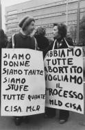 Paola Agosti - Adele Faccio ed Emma Bonino