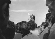 Paola Agosti - Manifestazione operaia FIAT Mirafiori con Bruno Trentin. Torino, 1973