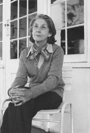 Paola Agosti - Nadine Gordimer. Johannesburg, 1983