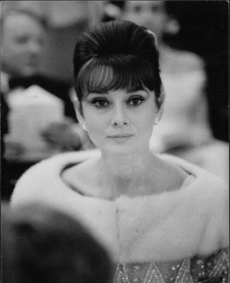 "Audrey Hepburn sul ""France"", Le Havre gennaio 1962"
