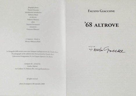 Fausto Giaccone 68 altrove