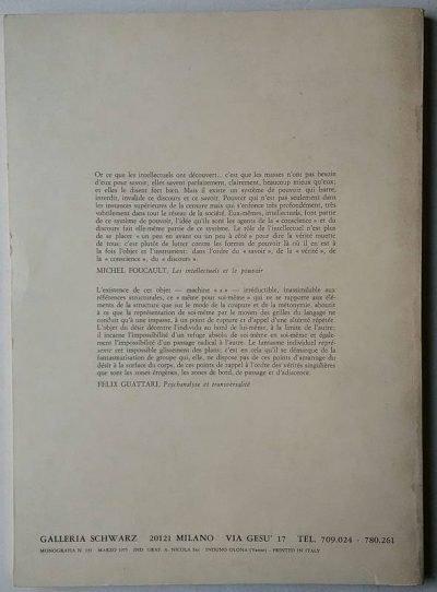 Tommaso Trini Introduzione a Baruchello Galleria Schwarz 1975 2