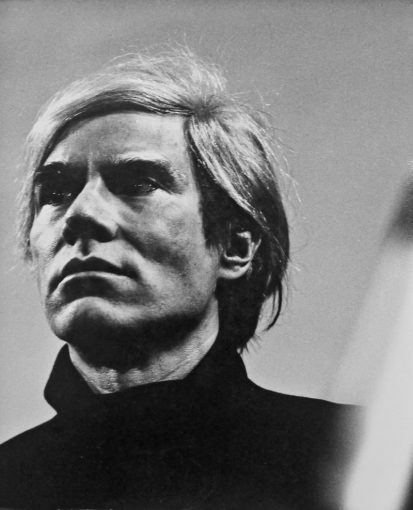Andy Warhol. Roma, 1972 | Photo by Paola Agosti ©
