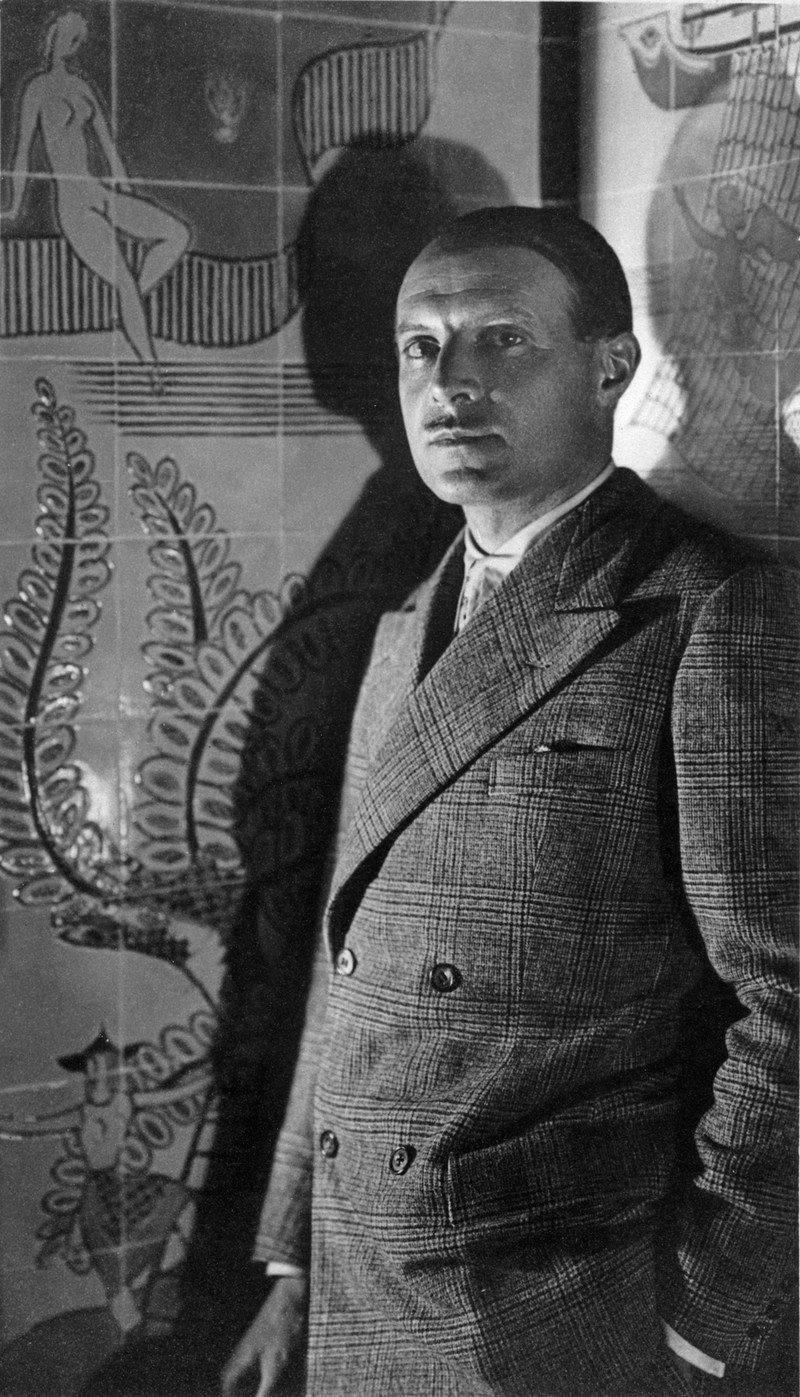 Ritratto di Gio Ponti negli anni '20.