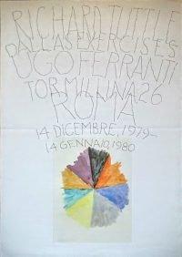 Richard Tuttle | Dallas Exercices - Ugo Ferranti, 1979-80 vintage poster