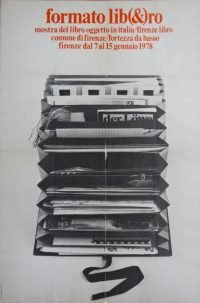 Maurizio Nannucci   Formato lib(&)ro Firenze 1978 poster