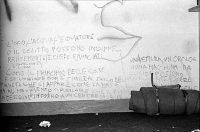 Enrico Scuro | Bologna, 16 febbraio 1977. Scritte al DAMS occupato