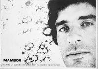 Renato Mambor | Galleria Il punto Calice Ligure 1973 poster