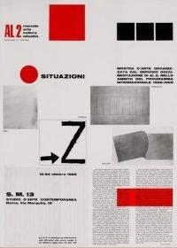 Fabro - Hafif - Innocente - Kounellis - Lombardo Montealegre - Takahashi   Situazioni S. M. 13 - Studio d'Arte Contemporanea 1968