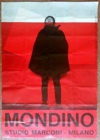 Aldo Mondino | Studio Marconi 1966 poster