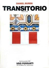 Daniel Buren Transitorio. Lavori in situ, Ugo Ferranti 1981