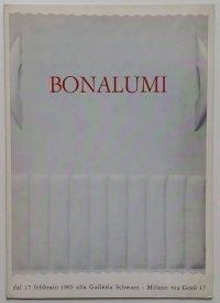 Agostino Bonalumi | Galleria Schwarz, 1965