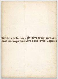 Mirella Bentivoglio | Artivisive Poesiavisiva