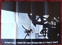 Jean Tinguely | Sculpture - Hanover Gallery, London 1968 poster