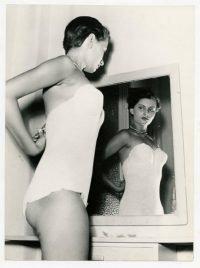 Ivo Meldolesi | Sofia Scicolone (Sophia Loren) al concorso di Miss Italia. Salsomaggiore Terme, 1950