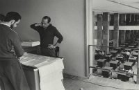 René Burri   Oscar Niemeyer, Brasilia, 1960