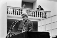 Fausto Giaccone | Jacques Lacan, Roma, 1974