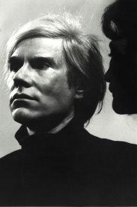 Paola Agosti | Andy Warhol e Graziella Lonardi Buontempo. Roma, 1972