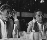 Ugo Mulas | Jean Fautrier e Guido Lenoci, Venezia 1960