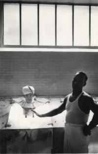 Elliot Erwitt | Steam bath, Hot Springs, South Carolina,1958