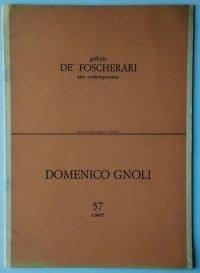 Domenico Gnoli - Galleria de' Foscherari 1967