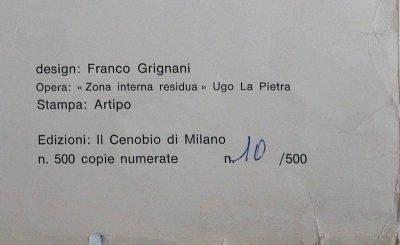 Ugo La Pietra il cenobio poster