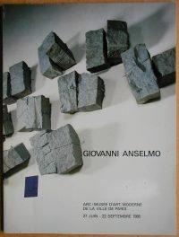 Giovanni Anselmo | ARC - Musée d'Art Moderne de la Ville de Paris 1985