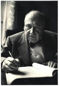 Ugo Mulas | Riccardo Bacchelli. Milano anni '60