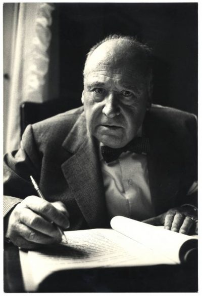 Ugo Mulas   Riccardo Bacchelli. Milano anni '60