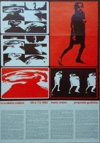 Mario Cresci Proposte grafiche La scaletta Matera 1967