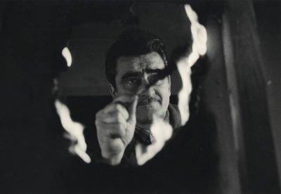 Ugo Mulas   Alberto Burri al lavoro nel suo studio di Roma, 1961