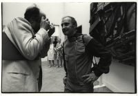 Ugo Mulas | Arman con il giornalista Rolly Marchi alla Biennale di Venezia 1968