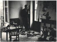 Ugo Mulas | Renato Guttuso a Velate 1961