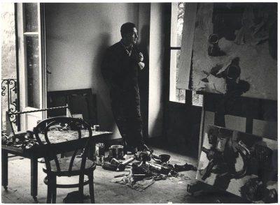 Ugo Mulas   Renato Guttuso a Velate 1963